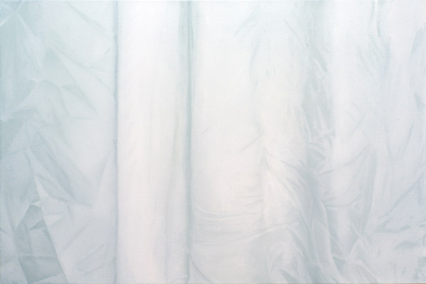 Duschvorhang (shower curtain) painting #03 by rc hoffmann